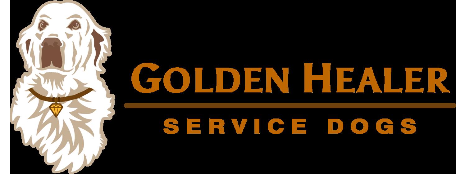 Golden Healer Service Dogs Logo